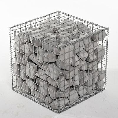 Image of a single gabion block