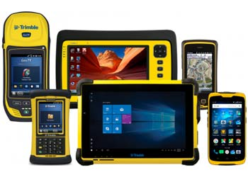 Trimble GIS handheld devices