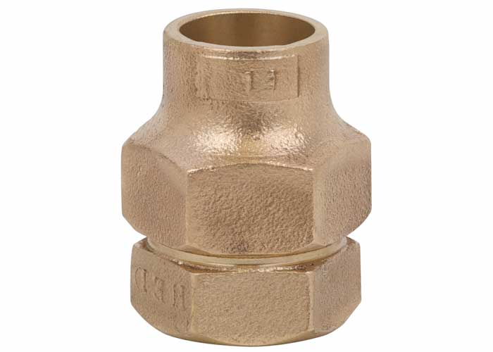 Flared Female Adaptor Brass Fitting
