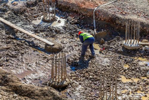 builder dewatering a jobsite