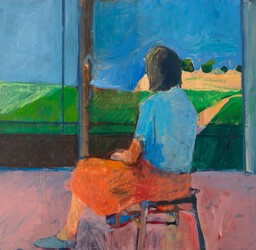 Diebenkorn-Girl-Looking-Landscape