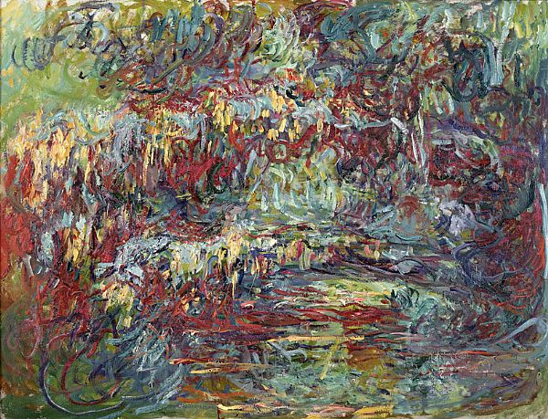claude monets water lilies analysis Every morning, a gardener would boat around the pond next to claude monet's  house in giverny, meticulously cleaning water lilies that had collected soot from.