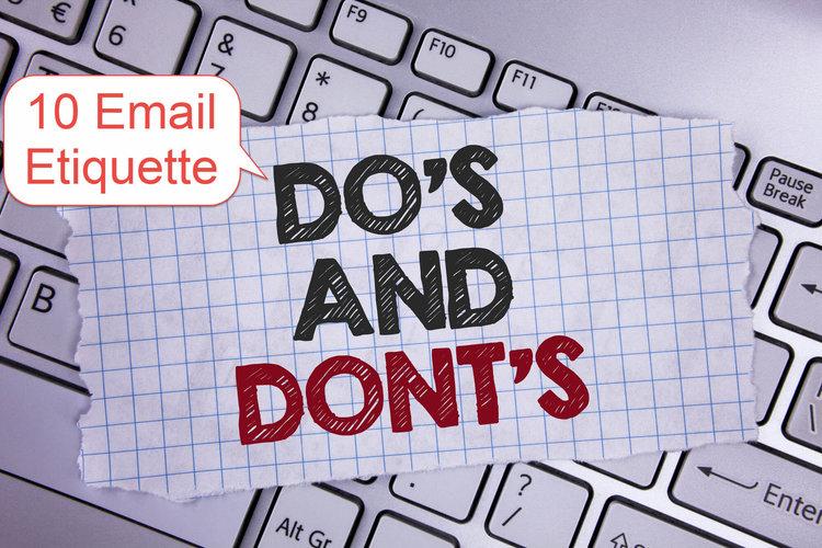 Email Etiquette 5.23.19