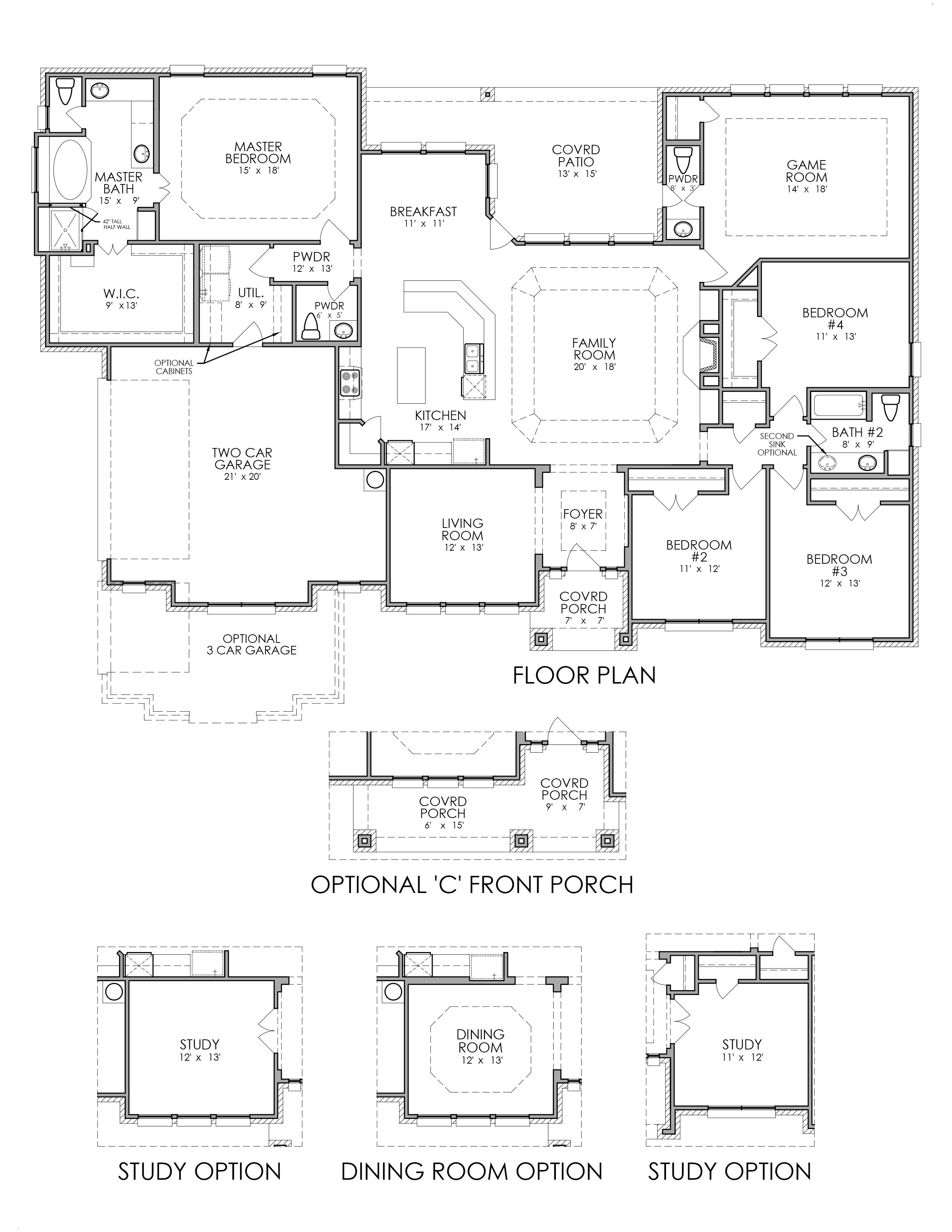 the st tropez bryson manor new home floor plan ovilla texas new homes for sale ovilla tx bryson manor estates 1 2