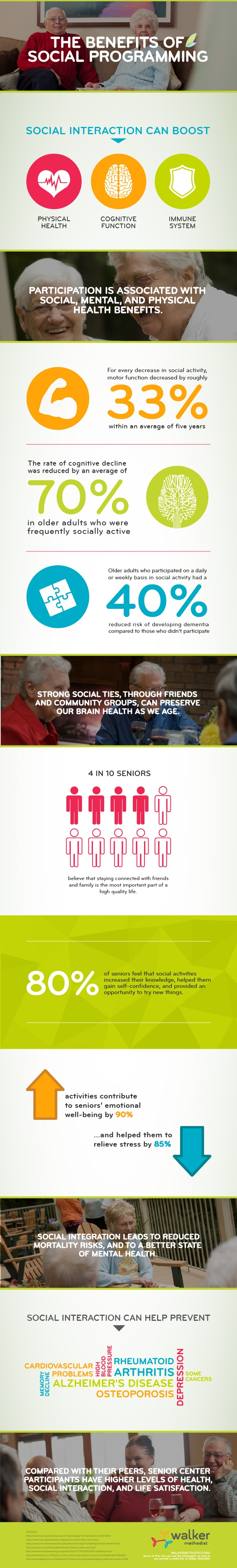 Benefits of Social Programming for Seniors