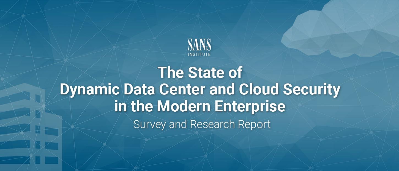 SANS report and survey