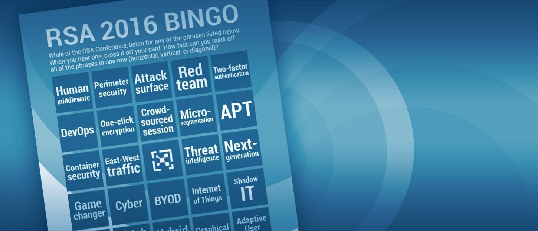 RSA 2016 Bingo