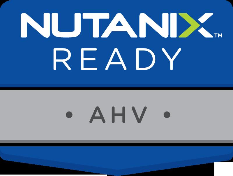Nutanix Ready: AHV