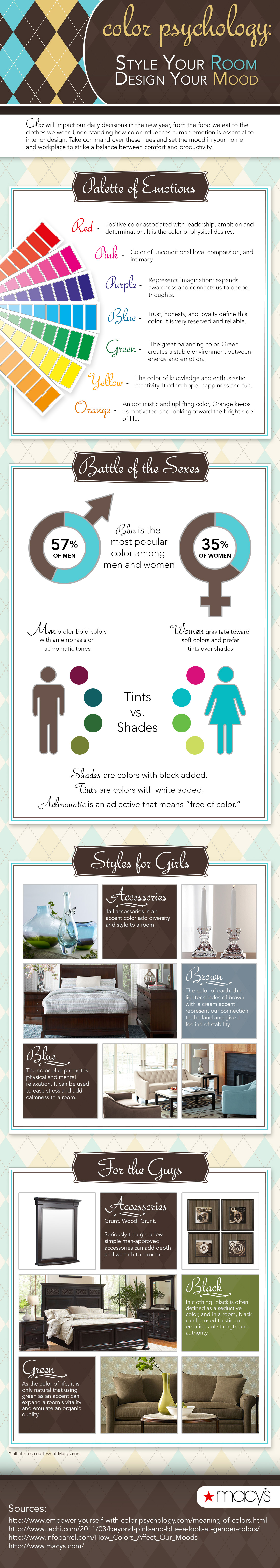 Color Effect On Mood set the mood: the psychology of color [infographic]