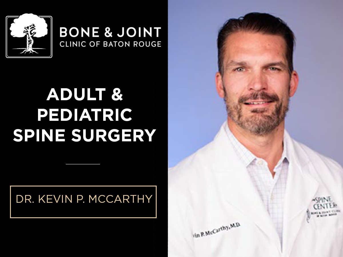 Baton Rouge Minimally Invasive Spine Surgery | Spinal Experts Baton