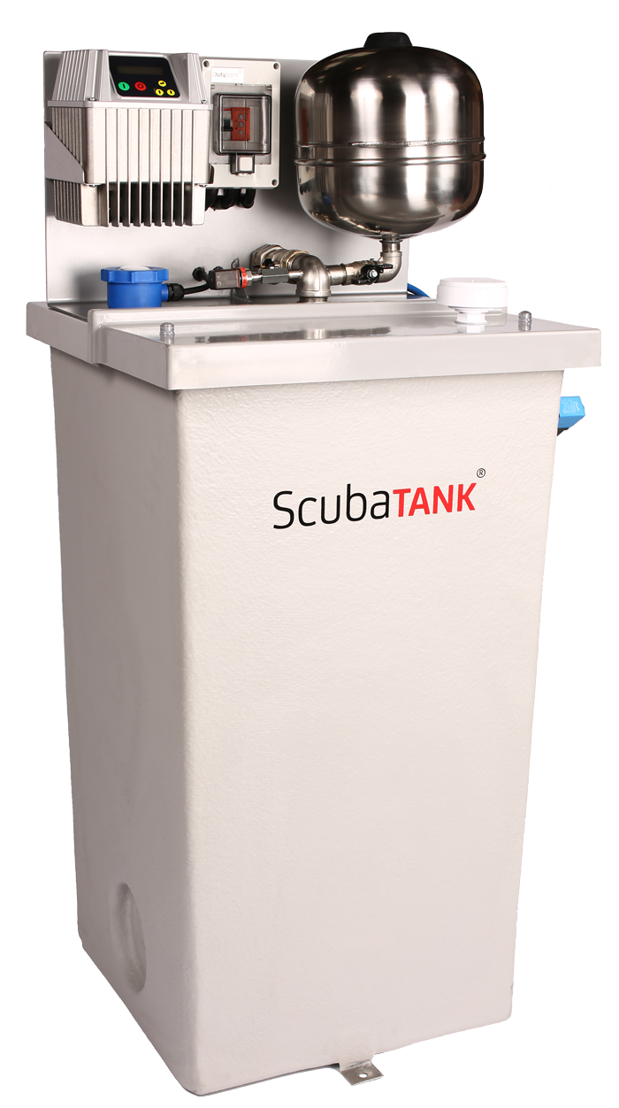 Scubatank Wx Wras Approved In Tank Booster Set Boost Voltage Converter Ranging From 15 To Youtube Wx1 Integrated Grp And Submersible Pump