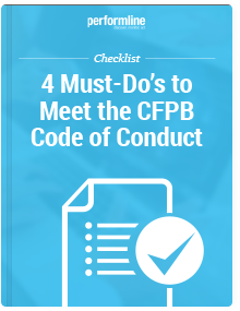 4 Must Do's to Meet the CFPB Code of Conduct Checklist