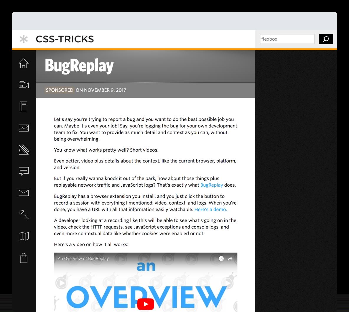 CSS Tricks Hero