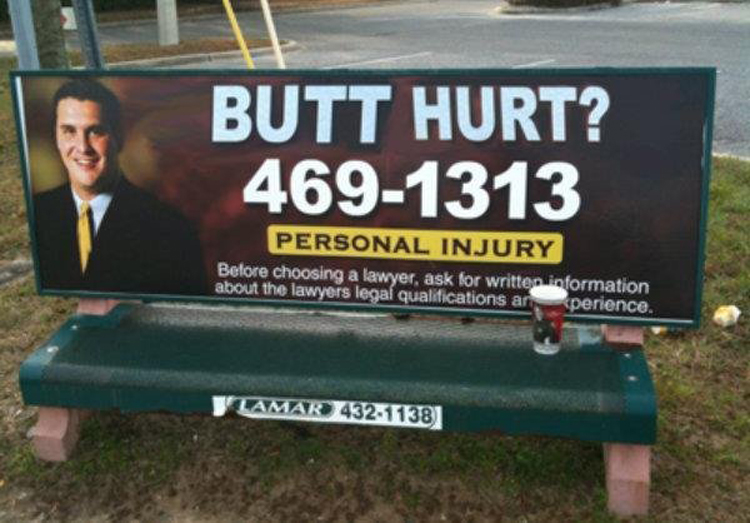 butt-hurt-lawyer-bus-bench-ad
