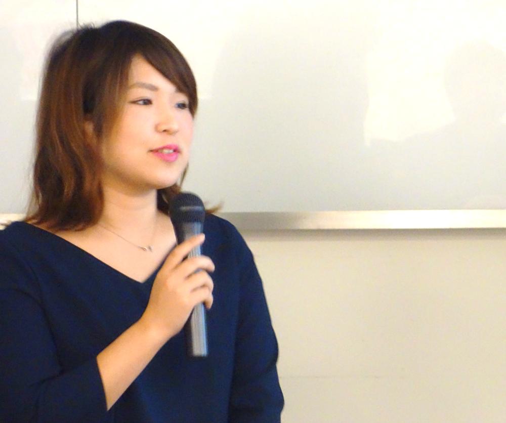 2017年11月3日 kakutokuのイベントに登壇する原さん