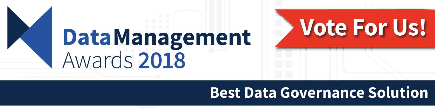 Governor Software Nominated for DMR Best Data Governance