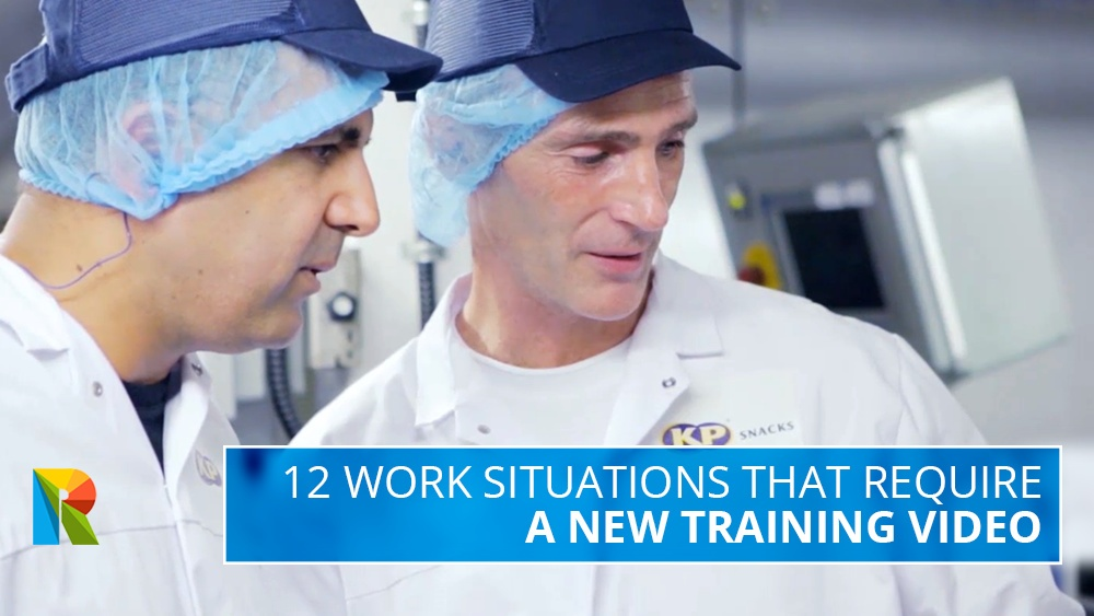 12 work situations that require a new training video