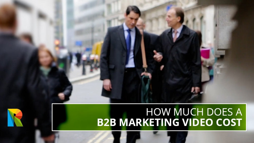 How much does a B2B marketing video cost