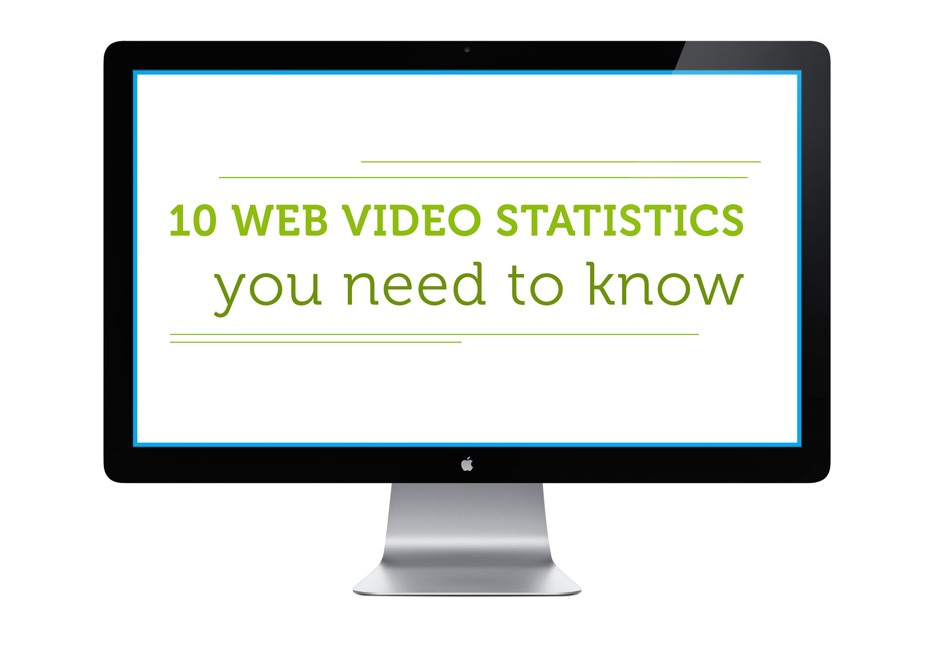 10 Web Video Statistics You Need To Know - Updated [INFOGRAPHIC]
