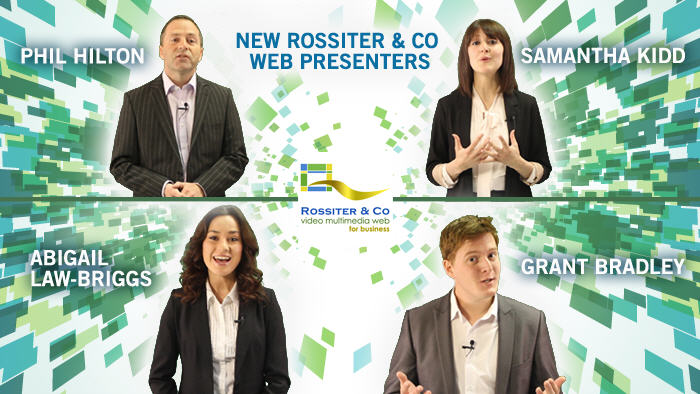 Our new Web Video Presenters - Coming soon