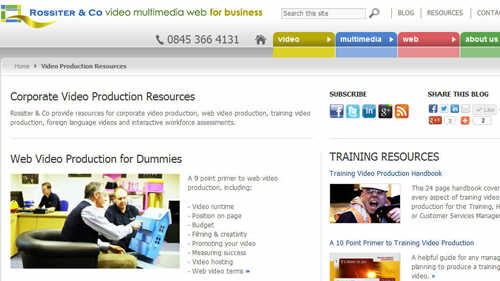 Studio News - New Video Production Resources