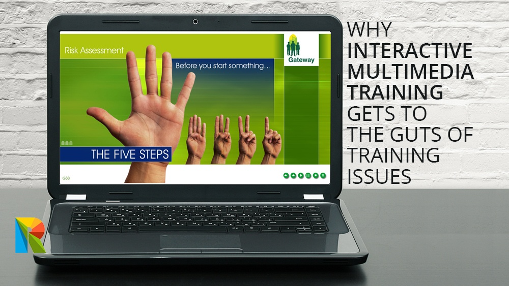 Why interactive multimedia training gets to the guts of training issues