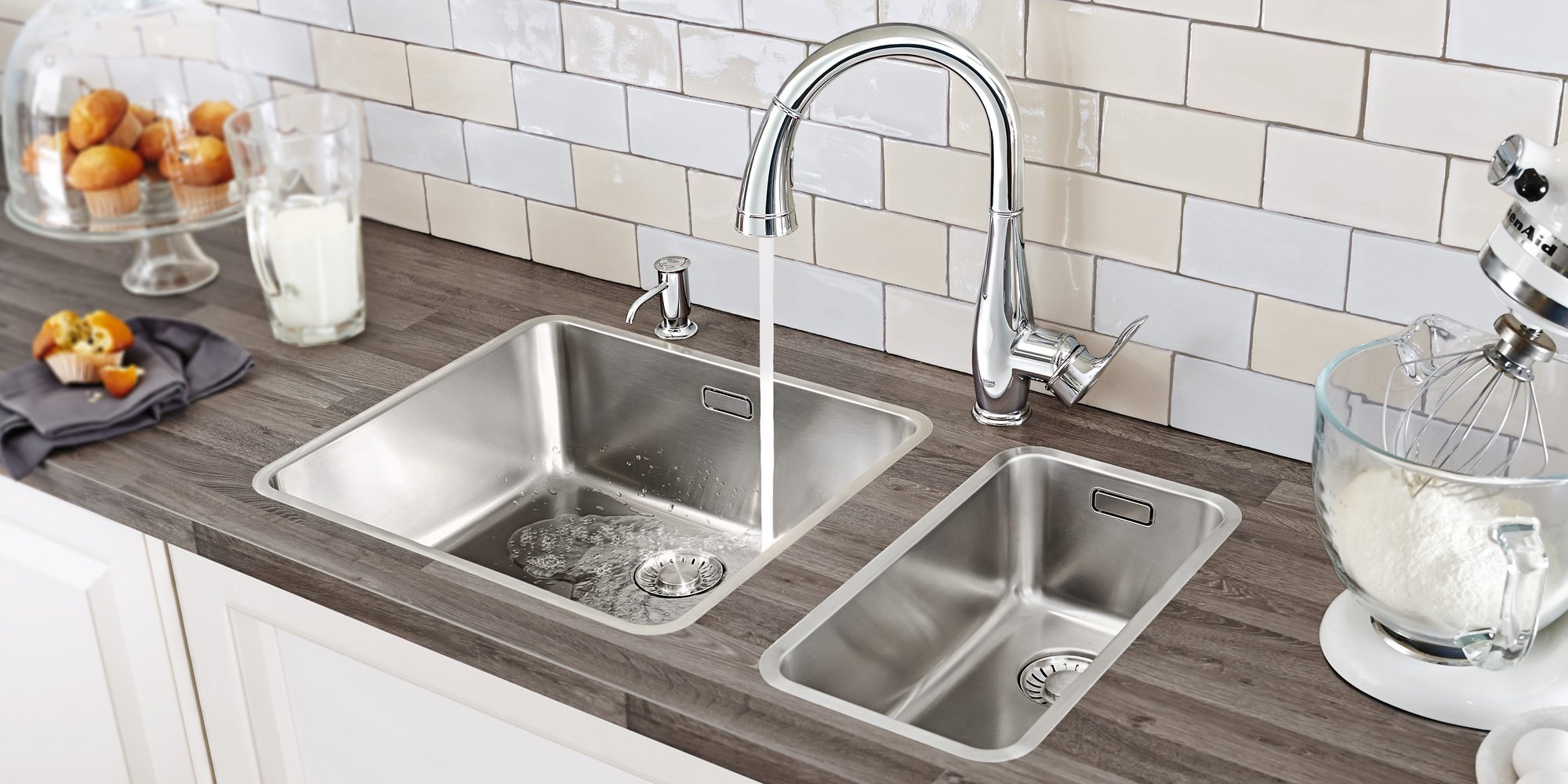 9 Types of Kitchen Sinks to Consider for Your Home