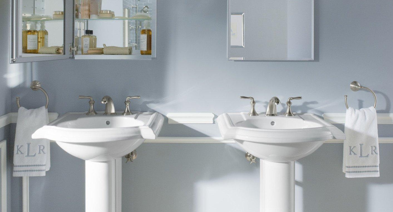7 Genius Pedestal Sink Storage Ideas For Your Home