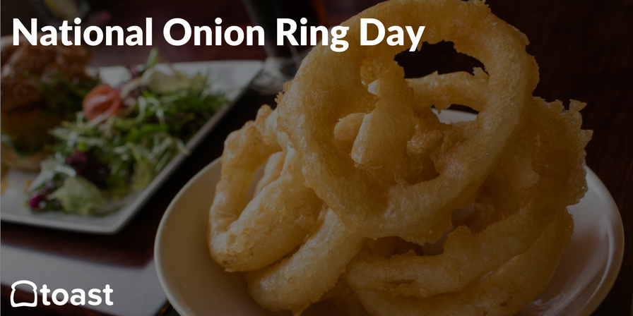 national onion ring day