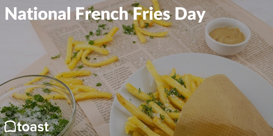 national french fries day