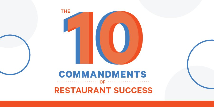 restaurant commandments