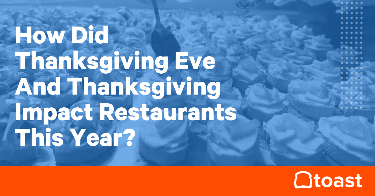 Thanksgiving And Restaurants