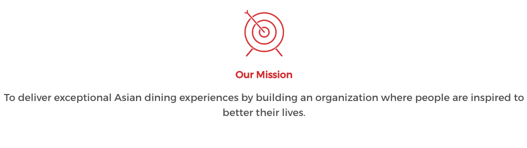 panda express mission statement