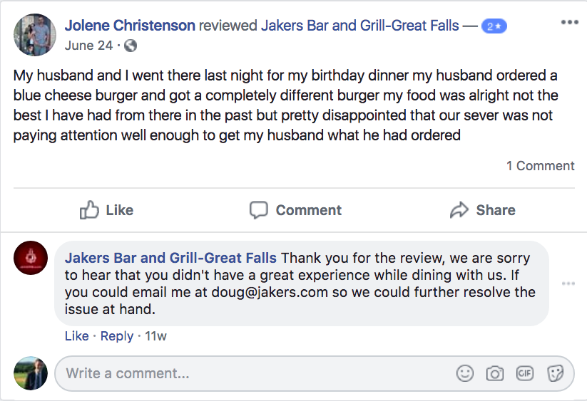 How to Respond to Negative Reviews of Your Restaurant
