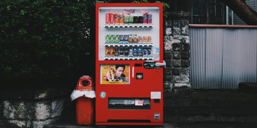 restaurant vending machines