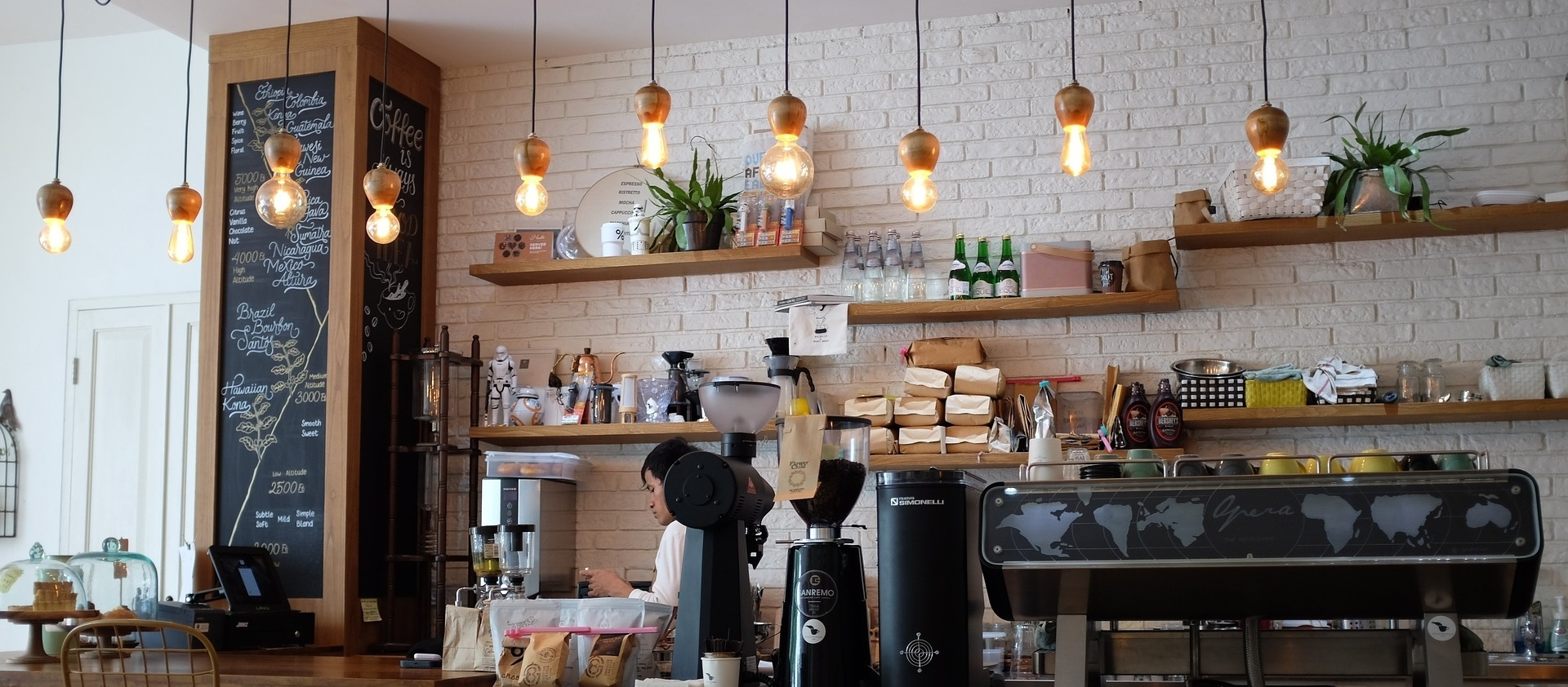 3 Clever Coffee Shop Interior Design Examples and Ideas