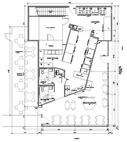 Restaurant Kitchen Layout Autocad: 9 Restaurant Floor Plan Examples & Ideas For Your