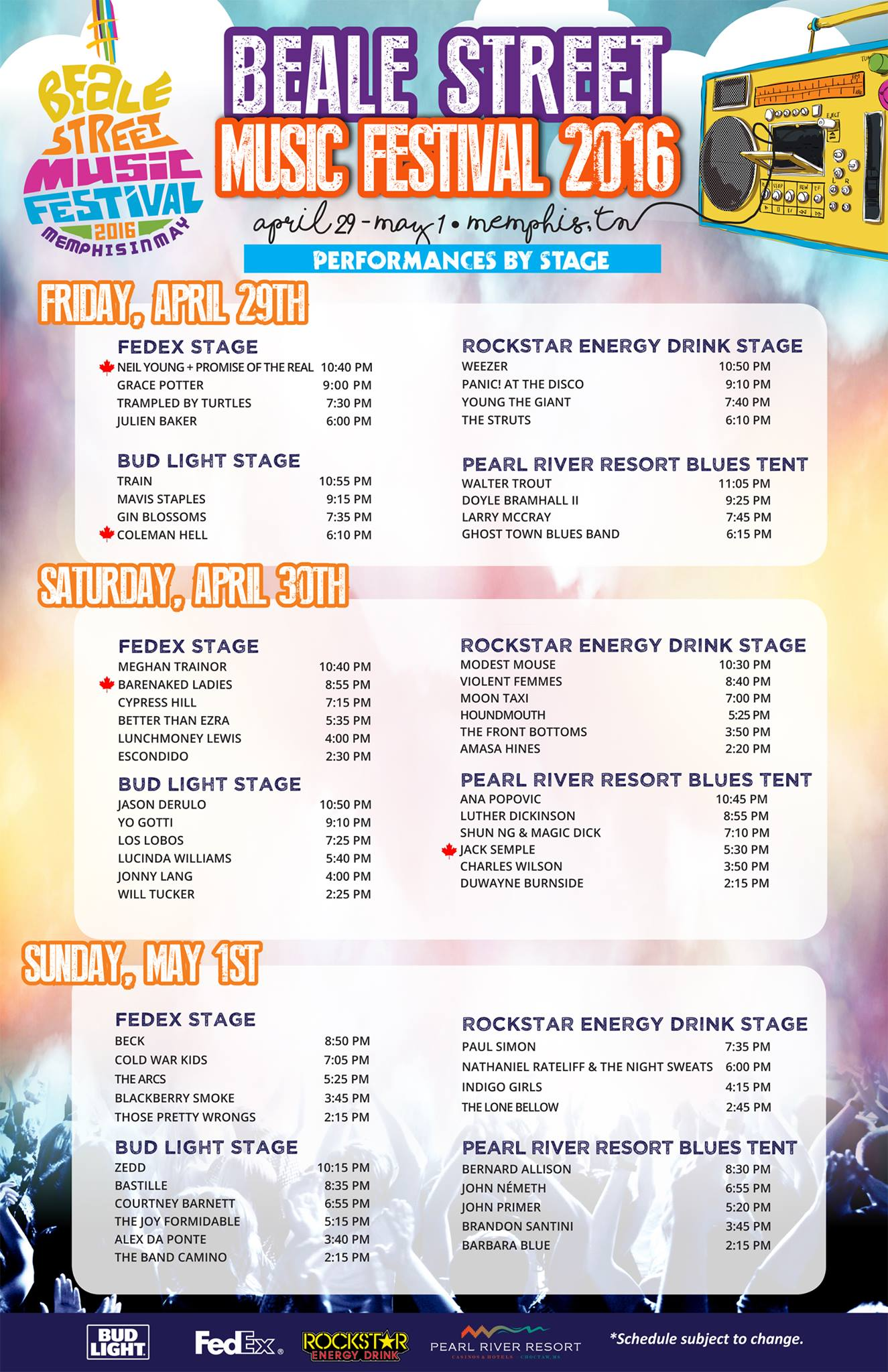 events beale street music festival tickets