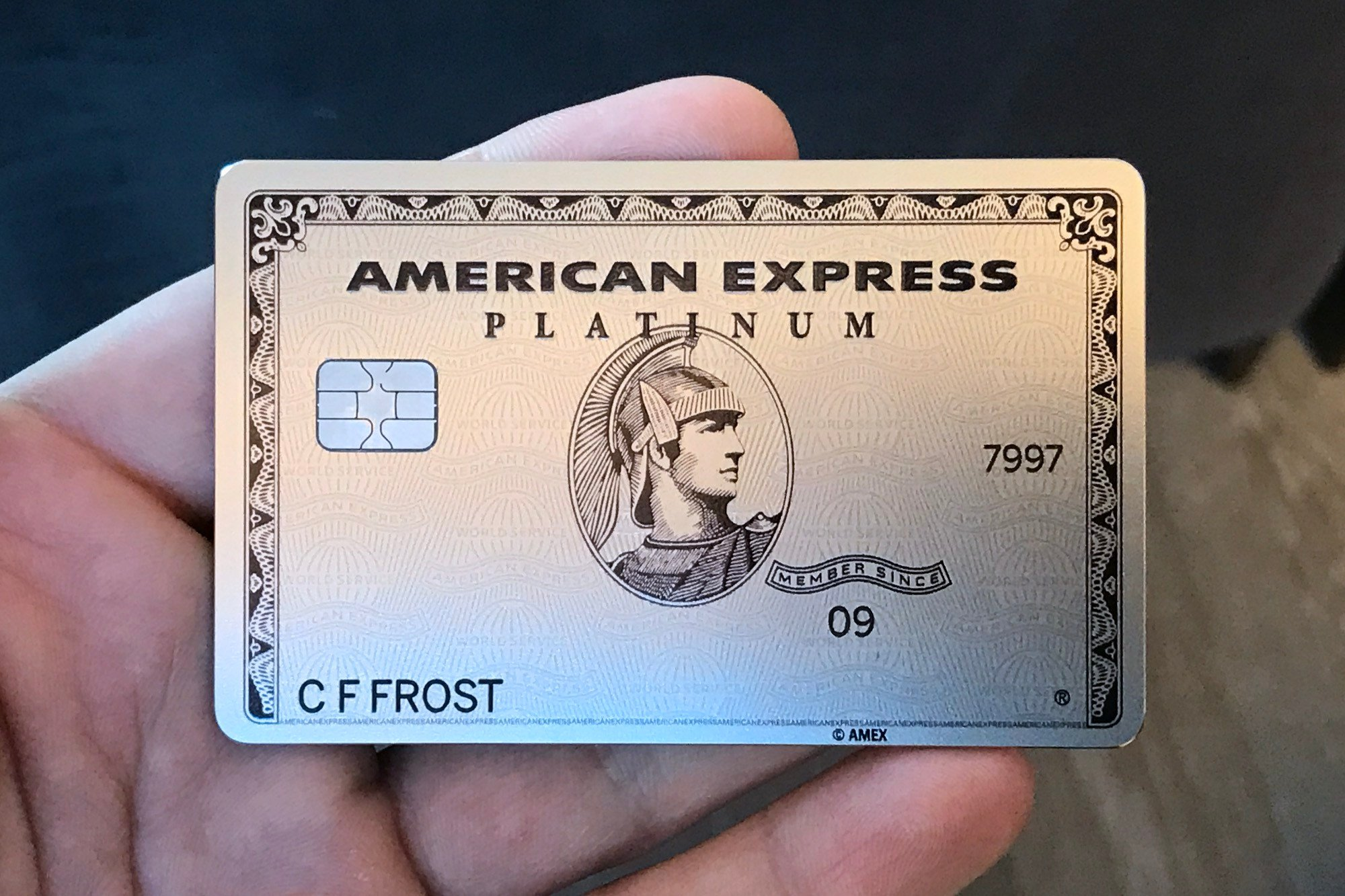 My American Express >> My New American Express Business Platinum Card Is Metal