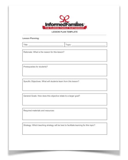 Download The Lesson Plan Template