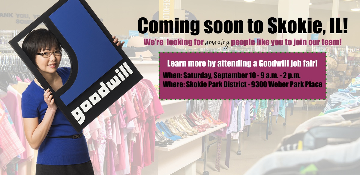 Goodwill job fair in Skokie