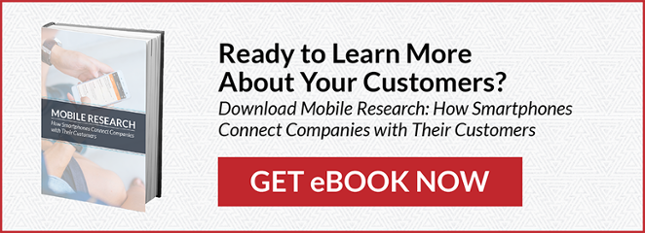 Ready to Learn More About Your Customers? Mobile Research: How Smartphones Connect Companies with Their Customers