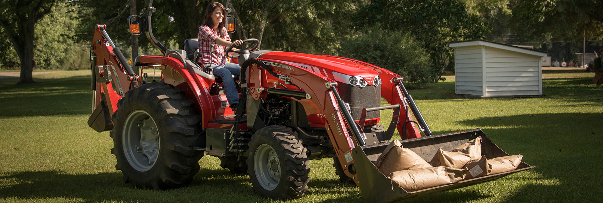 Compact Tractors: 45 hp or less