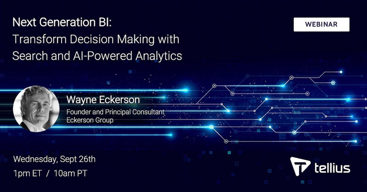 Webinar: Next Generation BI and Analytics, with Wayne Eckerson
