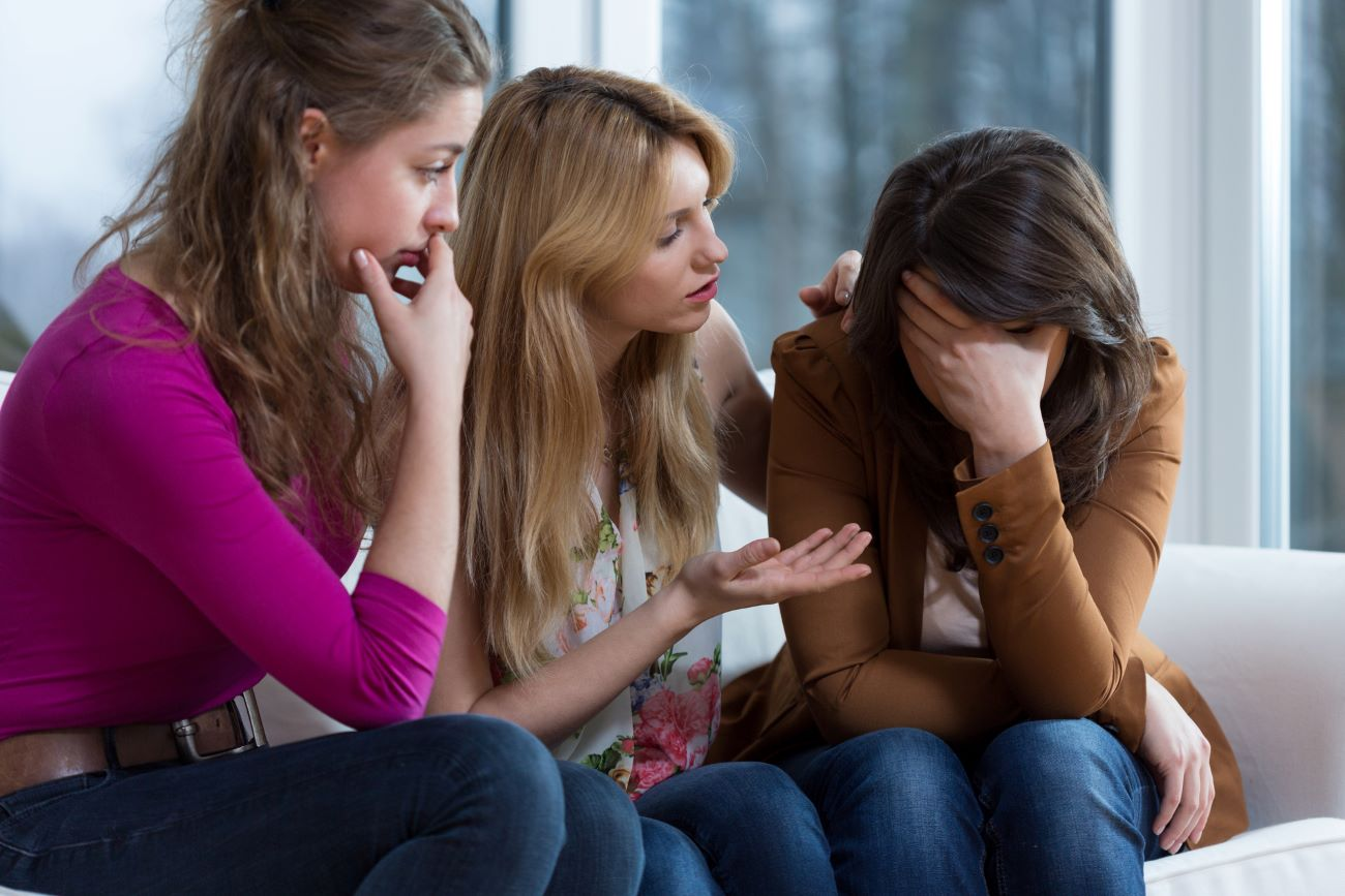 How can I help a family member in a domestic violence situation?