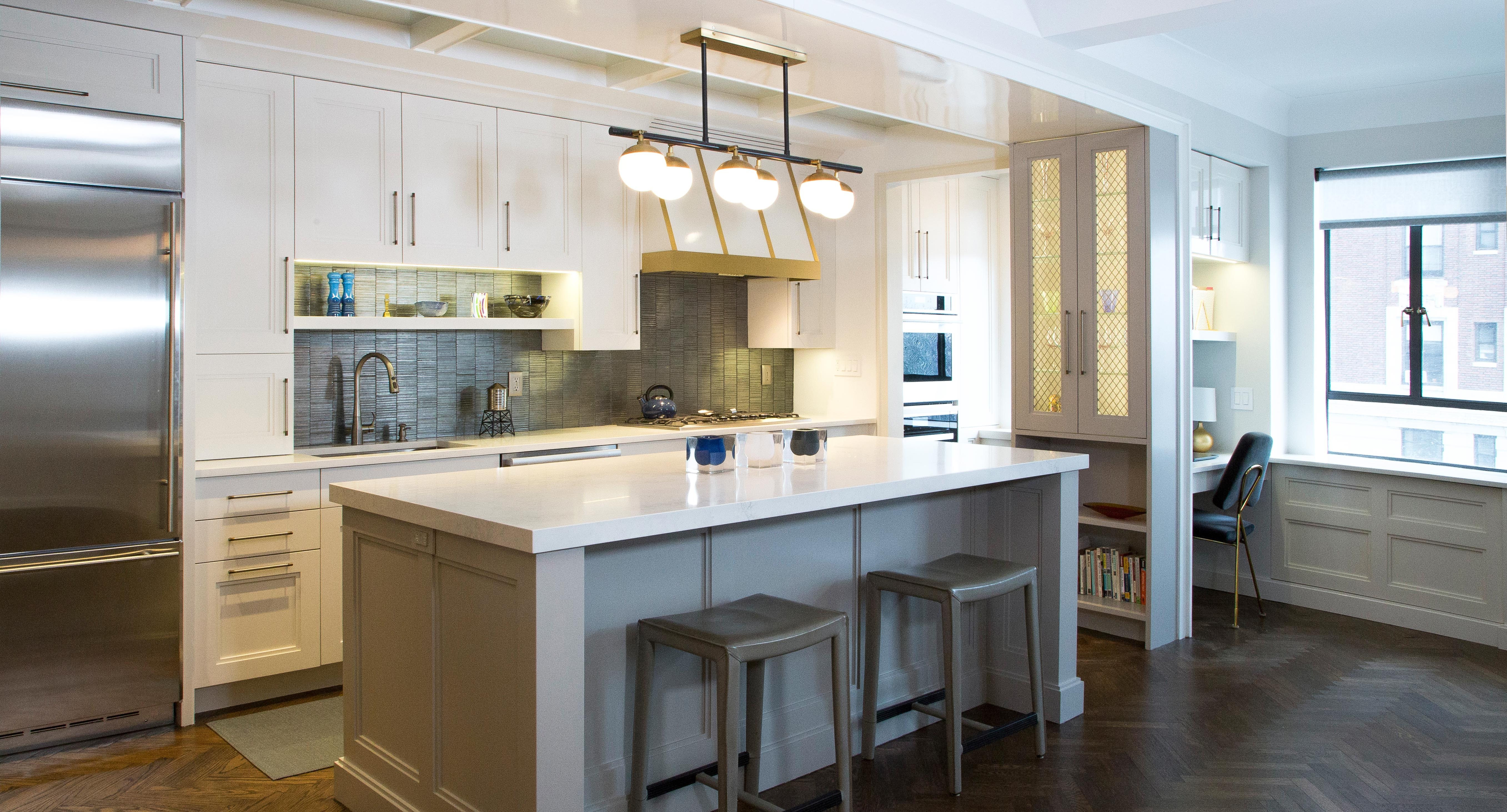 Small New York Kitchens Still Look Elegant