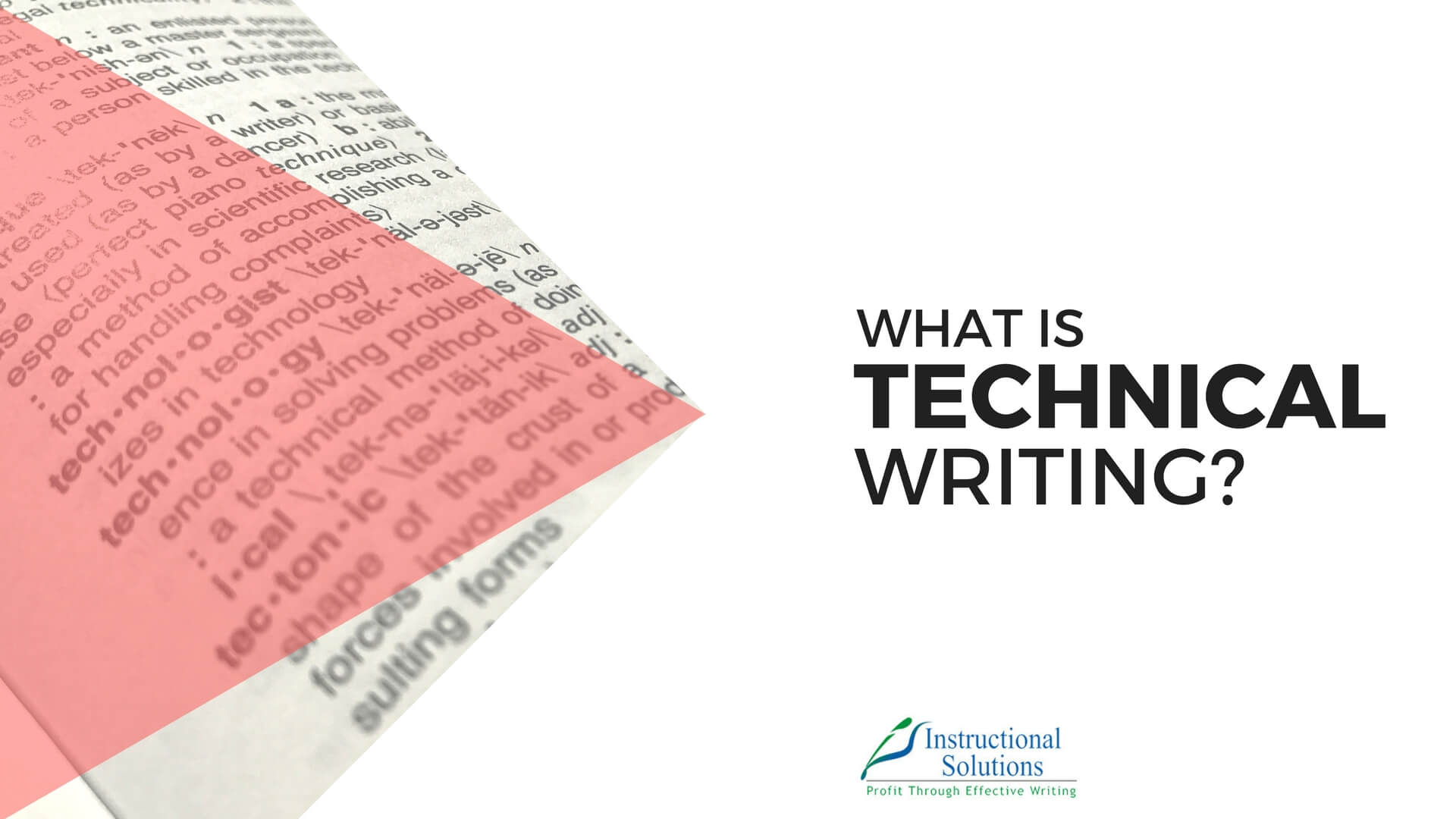 What is Technical Writing? [New Definition for 2018]