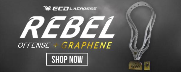 Ecd Lacrosse Rebel Graphene Offense Lacrosse Head