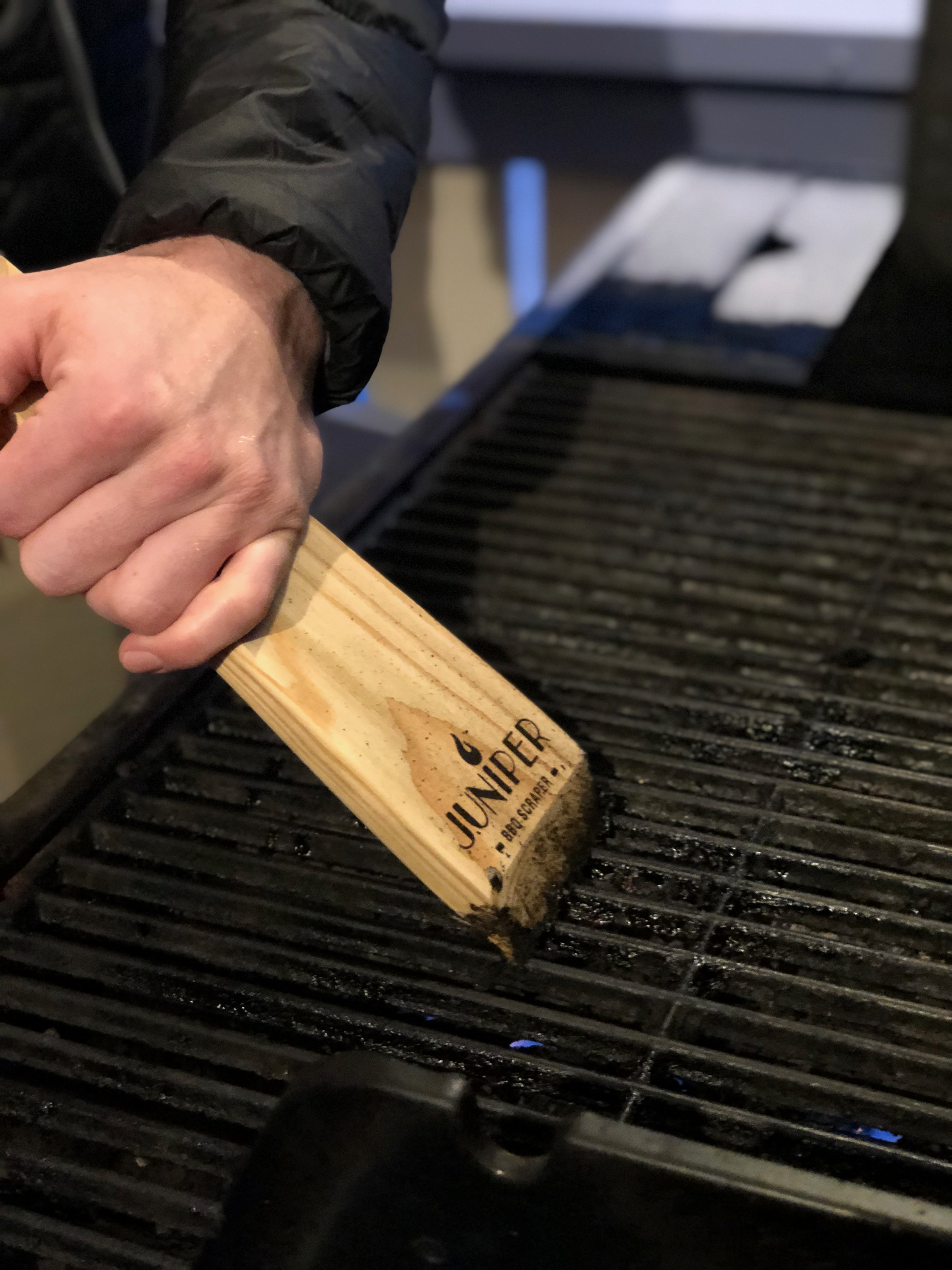 Juniper BBQ Scraper