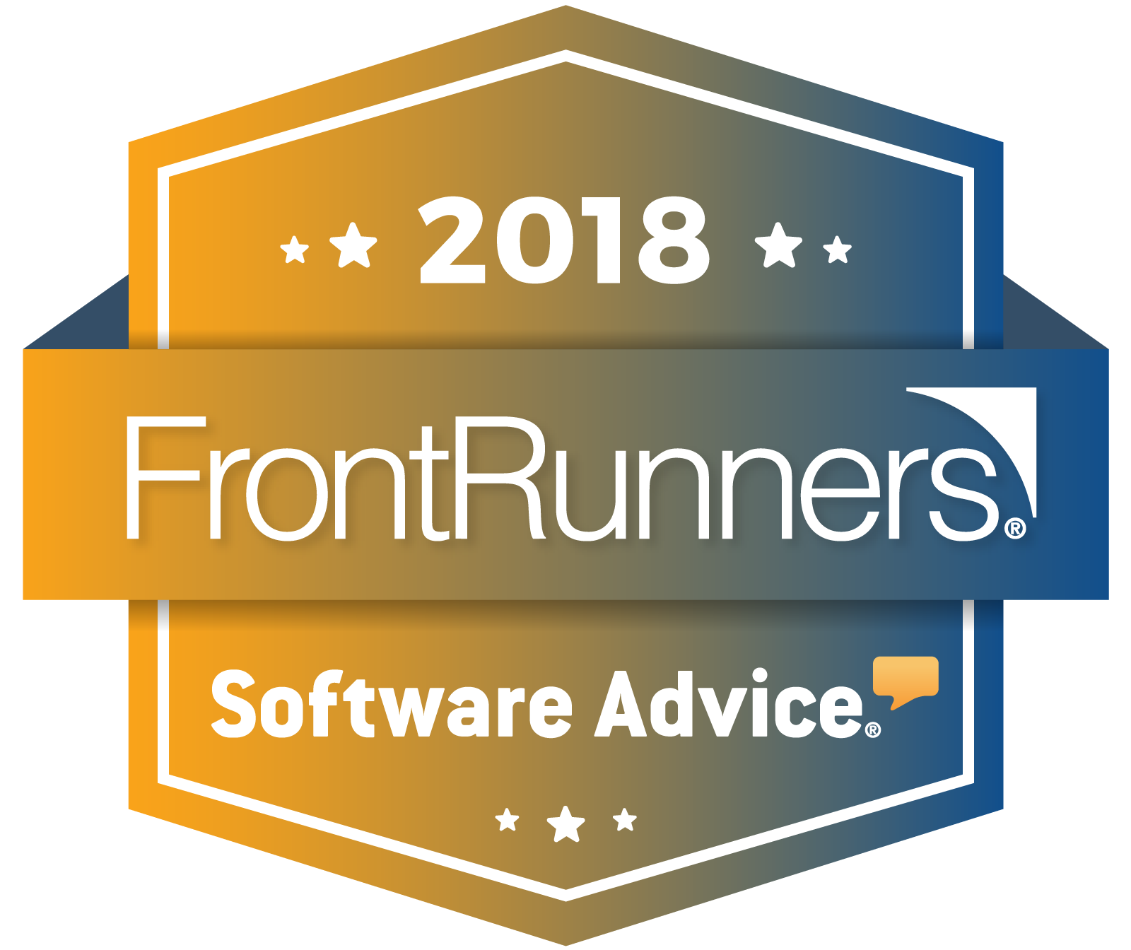 FrontRunners constitute the subjective opinions of individual end-user reviews, ratings and data applied against a documented methodology; they neither represent the views of, nor constitute an endorsement by, Software Advice or its affiliates.